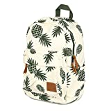 Hot Special Designed Backpack Pineapple Printing School Bags for Teenager Girls Book Bags