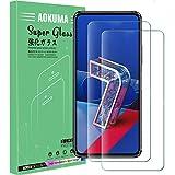 AOKUMA für ASUS Zenfone 7/Zenfone 7 Pro Panzerglas, 【2 Stücke】 Glas kompatibel mit ASUS...