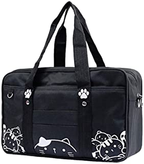 GK-O Japanese JK Uniform Bag Cute Cat Kawaii Lolita Handbag School Messenger Shoulder Bags