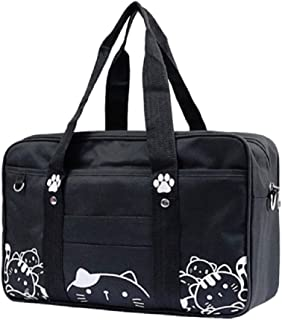 Japanese JK Uniform Bag Cute Cat Kawaii Lolita Handbag School Messenger Shoulder Bags