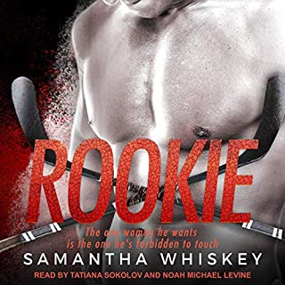 Rookie     Seattle Sharks Series, Book 4              By:                                                                                                                                 Samantha Whiskey                               Narrated by:                                                                                                                                 Noah Michael Levine,                                                                                        Tatiana Sokolov                      Length: 5 hrs and 8 mins     1 rating     Overall 5.0