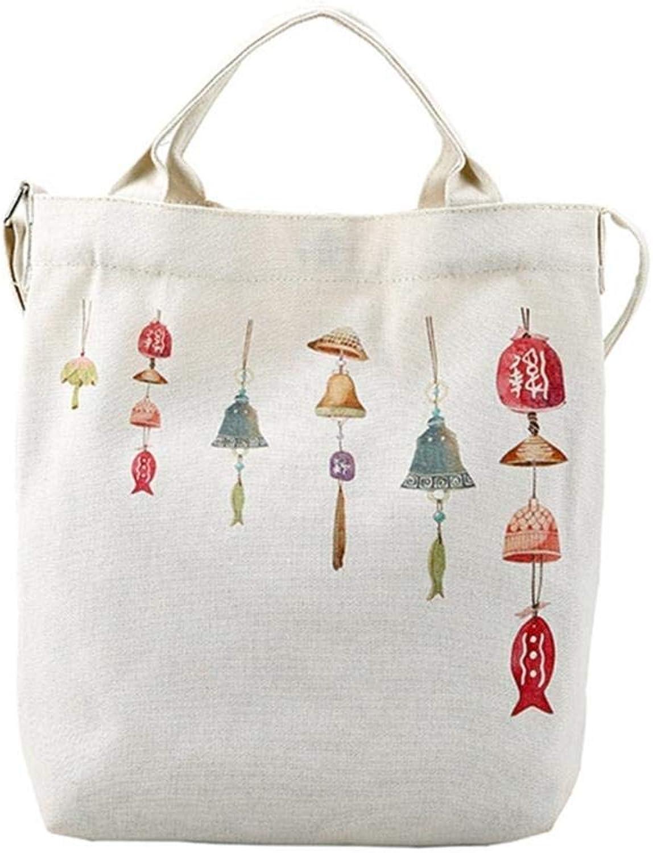 bcb50ecd1 THINKTHENDO Women's Casual Shoulder Canvas Bag Large Shopping Handbags Tote  Cartoon Printing color 3 Bloomerang neaqib8051-Sporting goods