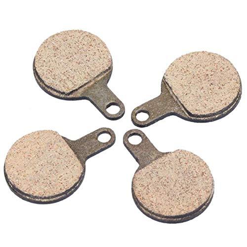 4 piezas pastillas de freno de disco MTB de resina para freno...