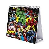 ERIK - Calendario de Escritorio 2021 Marvel Comics, 17x20 cm