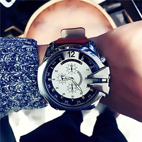 Europa und die Vereinigten Staaten kühlen große Zifferblatt DZ Mode Gezeiten Uhr wasserdicht Herrenuhr Sport Chronograph Uhr beiläufige Uhr Herrenuhr-5