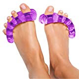 Original YogaToes - Small Purple: Toe Stretcher & Toe Separators. Fight Bunions, Hammer Toes, Foot Pain & More!