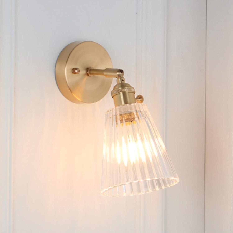 Licht Kronleuchter Retro Schlafzimmer Glas Wandlampe Badezimmerspiegel Nordic Lampe Wandlampe Beleuchtung
