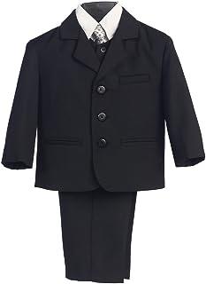 Lito Big Boysブラックウェディングイースター5個特別な機会Suit 8?–?14ハスキー