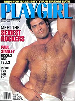 Playgirl Magazine  August 1989 -- Sexiest Rockers Paul Stanley Interview +