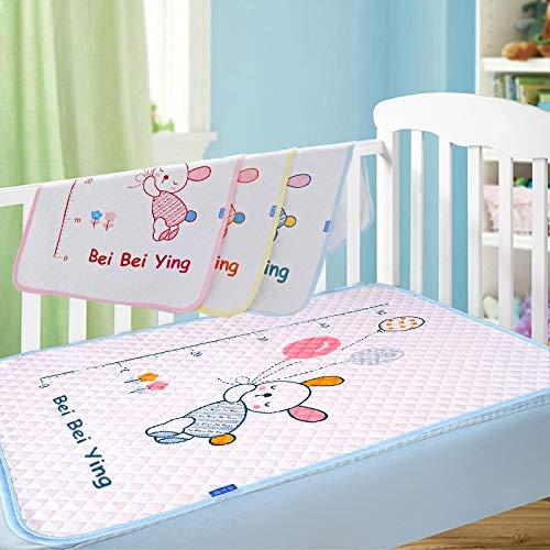 Alfombrilla para cambiar pañales reutilizable para bebé, portátil, plegable, impermeable, alfombrilla para cambiar pañales, esterilla lavable para pañales, toallitas, cubierta