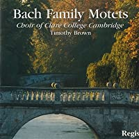 Bach Family Motets Clare Colle