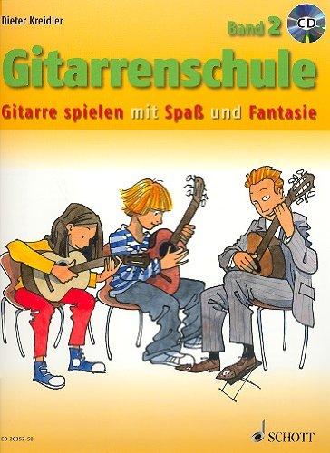 Gitarrenschule Band 2 (+CD) - Gitarre spielen mit Spaß und Fantasie - Neufassung. - Dieter Kreidlers neue Gitarrenschule wendet sich vor allem an ... lernen möchten. - Noten/sheet music
