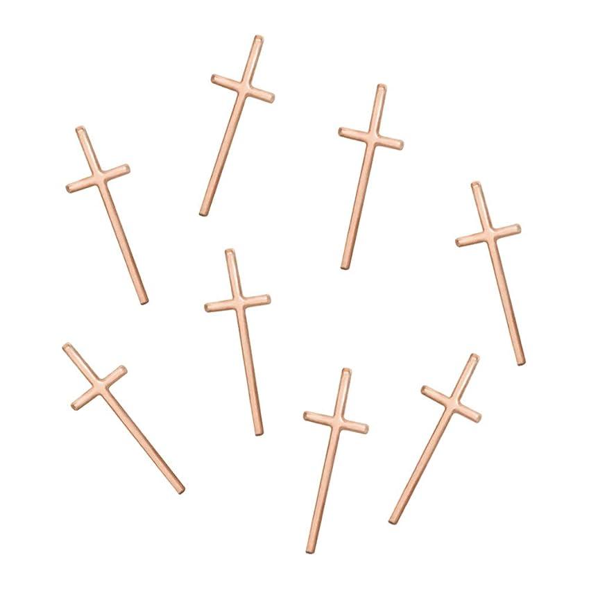 感性であること注文Bonnail&RieNofuji(ボンネイル&リエ ノフジ) thin cross -pinkgold-