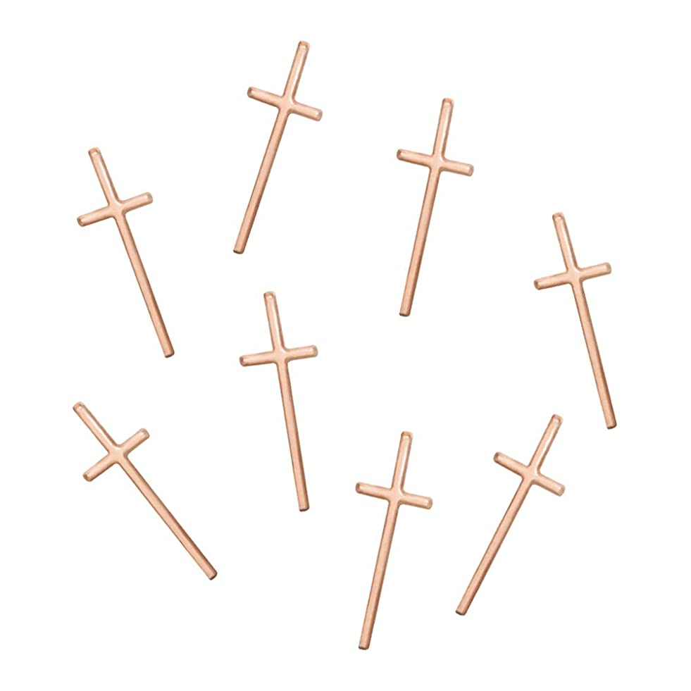 程度春場合Bonnail&RieNofuji(ボンネイル&リエ ノフジ) thin cross -pinkgold-