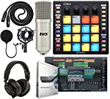 PreSonus ATOM Production/MIDI and Performance Pad Controller w/Professional Studio Microphone and Recording Kit