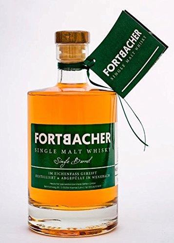 Fortbacher Single Malt Whisky, Fassstärke, in limitierter Einzelfassabfüllung