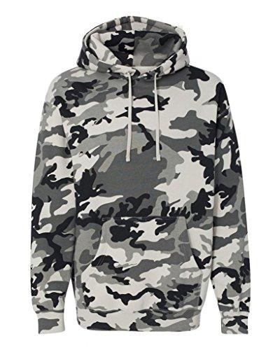 Joe's USA - 10.oz Heavyweight Camouflage Hoodie - Army Camo Sweatshirt 10 Oz Pullover Hooded Sweatshirt