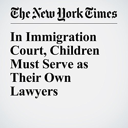 In Immigration Court, Children Must Serve as Their Own Lawyers audiobook cover art