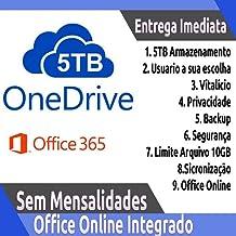 Microsoft Office 365 Personal com 1TB de armazenamento no OneDr