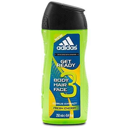 adidas Dusche 2in1 Get Ready, 250 ml, 6er Pack (6 x 250 ml)