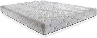 OrthoLife - Colchón H20 cm de AirPur®, desenfundable, tejido natural de bambú de alta densidad, individual 90 x 190 cm