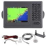 GPS marin, 5,6 pouces étanche Marinie GPS Navigator DC 11‑35 V...