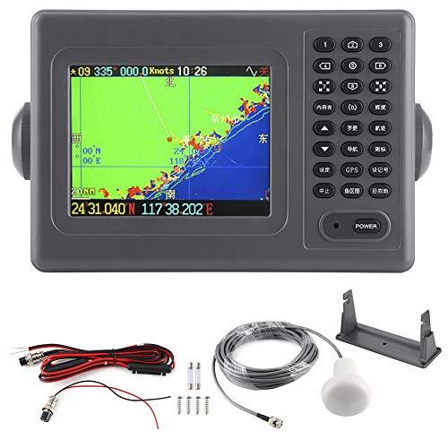EBTOOLS GPS-Navigation, 5,6-Zoll-GPS-Navigator-Farb-LCD-Display Kartenplotter-Navigation Liefert Kfz-GPS-Geräte für Marineboote DC 11‑35V