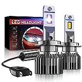 Ampoule H7 LED, XENPLUS 60W 10600LM, 350% 6500K 5530 Chips Extrêmement Lumineuses, Ampoules Auto de Rechange Pour Lampes Halogènes et Kit Xenon, 2 Ampoules