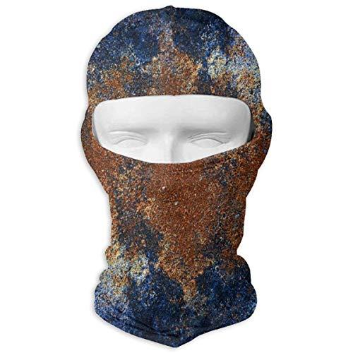 Sitear Textuur Blauwe Gips Kaleidoscoop Aangepaste Volledige Gezicht Masker Hood Nek Warm Voor Mannen En Vrouwen Outdoor Sport Windproof Zonnebrandcrème