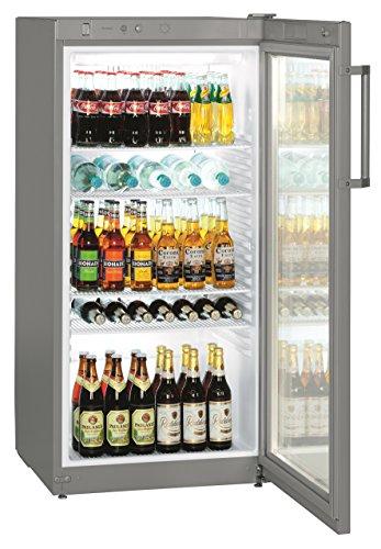Liebherr FKvsl 2613Premium autonome Silber Kühlschrank Getränkespender–Kühlschränke Getränkespender (autonome, silber, 5Einlegeböden, rechts, R600a, 250l)