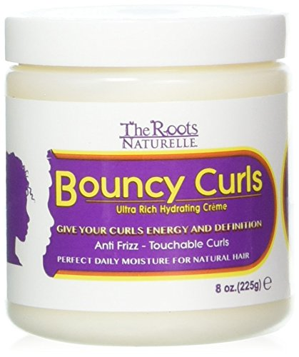 The Roots Naturelle Curly Hair Products Bouncy Curls (8 Ounce). Moisturizing Anti-frizz Cream...