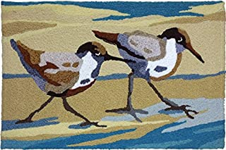 Home & Comfort Jellybean Sandpiper Pair Accent Rug