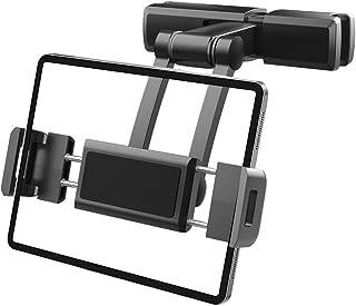 Uchwyt samochodowy na tablet zag?ówek uchwyt do telefonu komórkowego 360 stopni obrót regulowane tylne siedzenie 4.7-12.3 ...