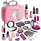 Kids Washable Makeup Girls Toys - Real Make Up Set Washable Make up Kit for Toddler Kids Girl Children Princess...