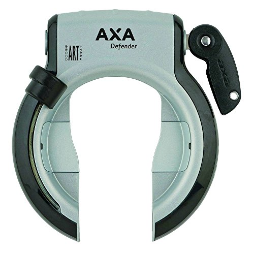 AXA 1X Rahmenschloss Defender, Grau, 4,3x16x22 cm