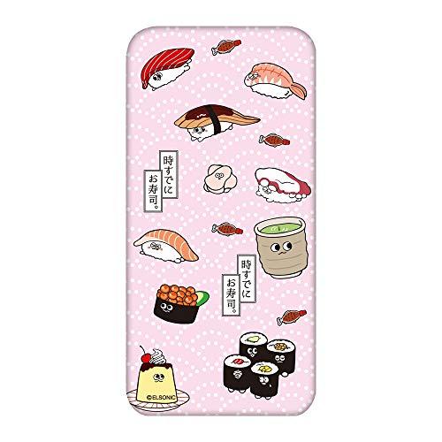 時すでにお寿司。 Galaxy Note8 SC-01K ケース クリア TPU プリント いろいろ寿司A (es-021) スマホケース ギャラクシー ノートエイト スリム 薄型 カバー スマホカバー WN-LC348760