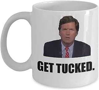Tucker Carlson Coffee Mug, Funny, Cup, Tea, Gift For Christmas, Father's day, Xmas, Dad, Anniversary, Mother's day, Papa, Heart, Santa