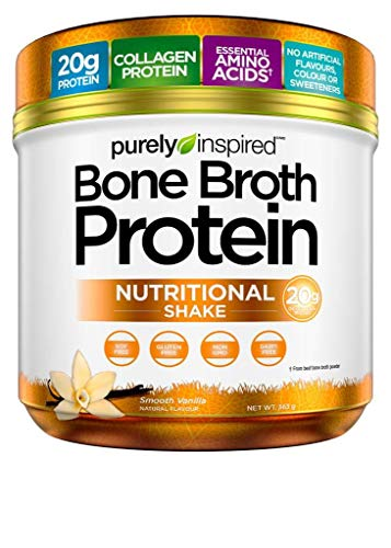 Bone Broth Protein Powder | Purely Inspired Bone Broth Collagen Protein Powder | Includes Essential...