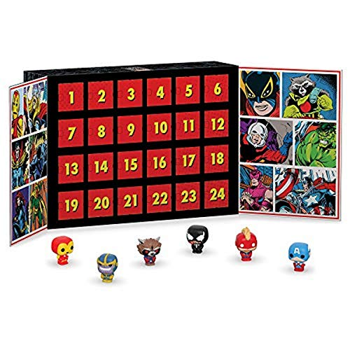 Funko Advent Calendar Marvel Calendario Adviento, Multicolor, Estándar (42752)