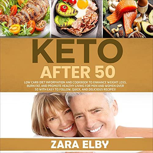 Couverture de Keto After 50