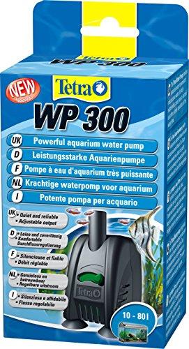 Tetra WP 300 Wasserpumpe für Aquarien - Leistungsstarke Aquarienpumpe, mit Durchlfussregulierung, für eine optimale Wasserzirkulation und klares Wasser, 10 - 80 Liter