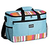 B.PRIME Insulated bag 20L CLASSIC I 36x26x22cm I Soft insulated cooler I Blue
