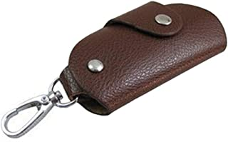 Elenxs Unisex Door Car Faux Leather Key Holder Bag Purse Case