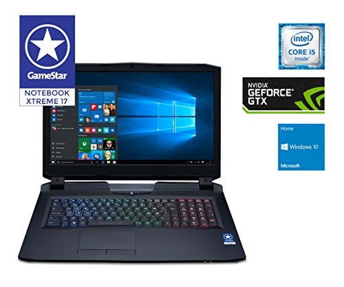 one GameStar Notebook Pro (17,3