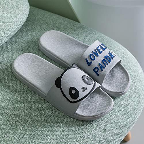 ZMDSGZ Sandalen Flip Flops Neue Cartoon Panda Frauen Hausschuhe Sommersandalen Damen Slides Indoor Hausschuhe Flip Flops-4