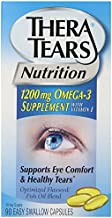 Thera Tears Nutrition, 1200mg Omega-3 Supplement Capsules, 360-Count Pack