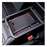YEE PIN 2020 Sentra SR Center Console Organizer Tray 2021 Sentra Armrest Tray Armrest Box Secondary Storage Insert ABS Materials Tray Compatible with 2020 2021 Sentra