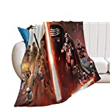 Manta infantil Star Wars Movie The Force Awakens para niños 200 x 180 cm