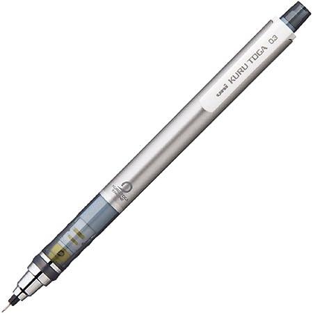 三菱鉛筆 シャープペン クルトガ 0.3 シルバー M34501P.26