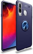 جراب Avalri لهاتف Samsung Galaxy A8S، غطاء رفيع ناعم وواقي كامل يدور 360 درجة مع خاصية تثبيت مغناطيسية للسيارة لهاتف Galaxy A8S, ازرق